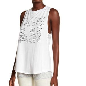 🆕 Free People Graphic Print Valley Tank Top Large